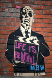 Het Parijse de Graffitileven van MBW is Mooi Stock Foto