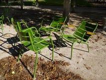 In het park Stock Foto's