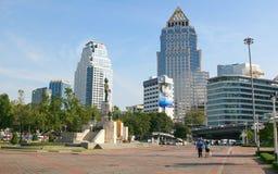 Het Park Bangkok, Thailand van Lumphini Stock Foto's