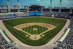 Het Park Chicago, IL van Commiskey Stock Fotografie