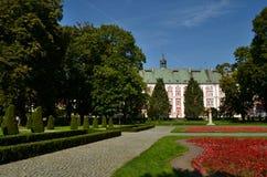 Het Park Chopina van PoznaÅ Royalty-vrije Stock Foto's
