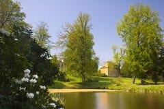 Het Park Dahlen van het paleis Royalty-vrije Stock Foto's