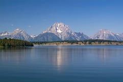 Het Park, de bergen en de meren van Grand Teton royalty-vrije stock afbeeldingen