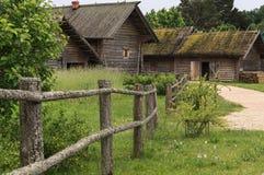 Het Park het Pushkin-dorp, Bloederige Pushkinskiye, Rusland Royalty-vrije Stock Fotografie