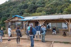 Het Park Iwatayama van de Arashiyamaaap stock foto
