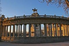 Het park Madrid van Retiro Stock Foto