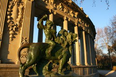 Het park Madrid van Retiro Stock Afbeelding