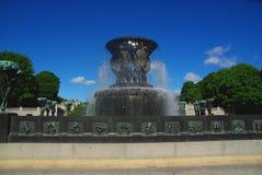 Het park Oslo van Vigeland Royalty-vrije Stock Foto's
