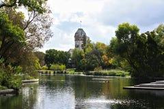 Het Park Pavillion van Winnipeg - Assiniboine- Royalty-vrije Stock Afbeeldingen