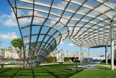 Het Park Shanghai van Lujiazui Royalty-vrije Stock Afbeelding