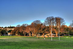 Het Park Sydney van de Baai van Rushcutters Royalty-vrije Stock Afbeeldingen