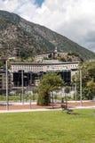 Het Park van Andorra Stock Afbeeldingen
