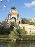 Het park van Barcelona Stock Foto