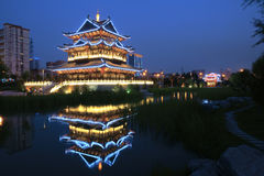Het park van Binhe stock afbeelding
