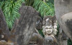 Het Park van Boedha - Vientiane, Laos Stock Foto