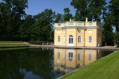 Het park van Catherine in Se Tsarskoye stock foto