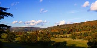 Het Park van Chatsworth Royalty-vrije Stock Afbeelding