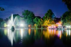 Het park van Cismigiu Stock Afbeelding