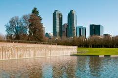 Het park van de binnenstad van Bellevue Royalty-vrije Stock Fotografie