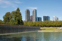 Het park van de binnenstad van Bellevue Royalty-vrije Stock Foto