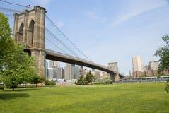 Het Park van de Brug van Brooklyn Stock Foto's