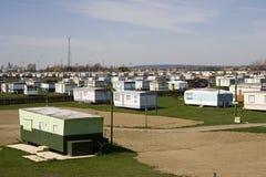Het Park van de caravan Stock Afbeelding