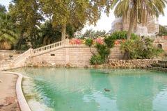 Het park van de citadel Royalty-vrije Stock Afbeelding