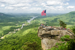 Het Park van de de bergstaat van de schoorsteenrots stock afbeelding