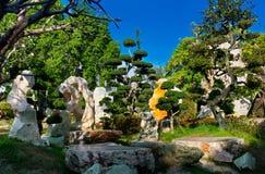 Het park van de de jarensteen van Milliom Stock Afbeelding