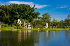 Het park van de de jarensteen van Milliom Royalty-vrije Stock Foto