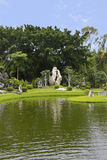Het park van de het jaarsteen van Millione Royalty-vrije Stock Afbeelding