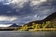Het Park van de het Meerstaat van Patagonië royalty-vrije stock afbeeldingen