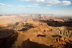 Het Park van de het Puntstaat van het doodspaard - de V.S., Utah Royalty-vrije Stock Foto's