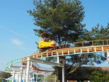 Het Park van de Hitachikust - kiddie ritten royalty-vrije stock foto
