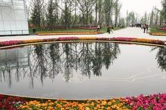 Het park van de Jinshaplaats in chengdu, China Royalty-vrije Stock Afbeeldingen