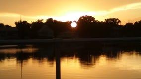 Het Park van de koningenbaai, Crystal River Florida Sunsets 89 Royalty-vrije Stock Fotografie
