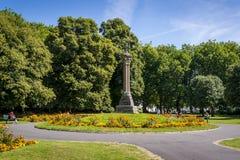 Het Park van de koningin, Southampton, Engeland, het UK royalty-vrije stock foto's