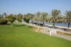 Het Park van de Kreek van Doubai stock afbeelding
