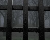 Het park van de mysticus (gevangenis) Stock Fotografie