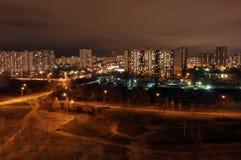 Het Park van de nacht Stock Foto's