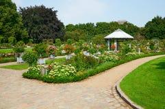 Het park van de Plantenv.n. Blomen hamburg Royalty-vrije Stock Afbeelding
