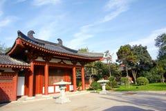 Het Park van de Pool van Huaqing Royalty-vrije Stock Afbeeldingen