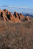 Het Park van de Roxboroughstaat, Colorado stock foto