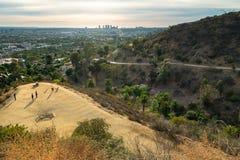 Het Park van de Runyoncanion, Los Angeles stock afbeeldingen