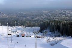 Het Park van de ski Royalty-vrije Stock Foto's