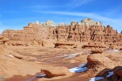 Het Park van de Staat van de Vallei van de kobold, Utah stock foto