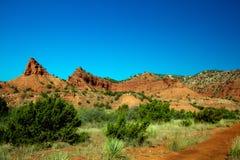 Het Park van de Staat van Caprockcanions in Texas Royalty-vrije Stock Fotografie