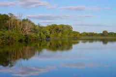 Het Park van de Staat van de Besnoeiing van de rots - Illinois royalty-vrije stock afbeeldingen