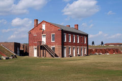 Het Park van de Staat van de Klinknagel van het fort royalty-vrije stock foto