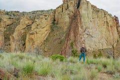 Het Park van de Staat van de Rots van Smith in Oregon Stock Afbeeldingen
